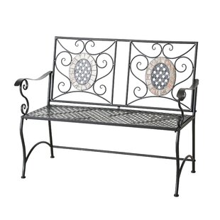Crowe Iron Bench By Sol 72 Outdoor