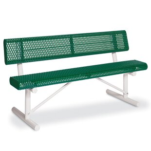 Victory Steel Park Bench