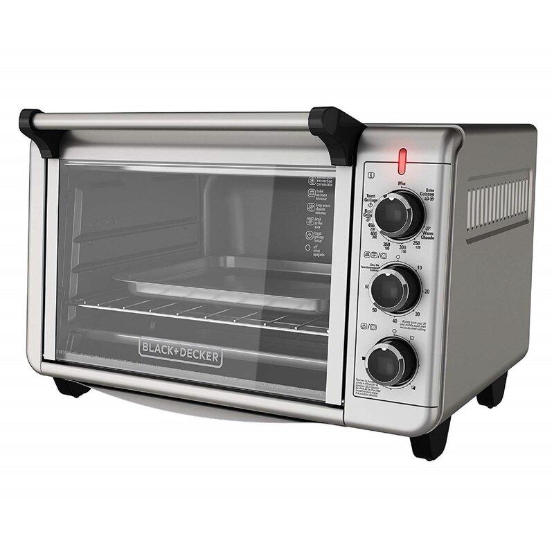 Black + Decker Crisp Bake Air Fry Toaster Oven & Reviews ...