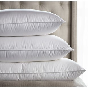 Down Inc. Tri-Compartmented Soft-Medium Sleeping Feathers Pillow