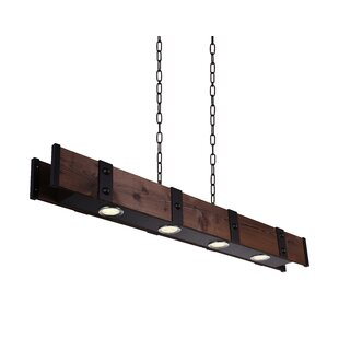 Shop for Ruby 4-Light LED Drum Chandelier By Foundry Select