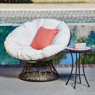 Fannie Patio Chair with Cushion