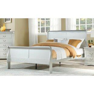 Gerben Twin Low Profile Sleigh Bed