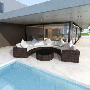5-Sitzer Sofa-Set von Home Etc