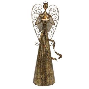Small Angel Metal Tealight