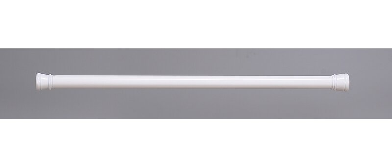 """Adjustable 23/"""" to 40/"""" Stall Size Spring Tension Shower//window//closet Rod"""
