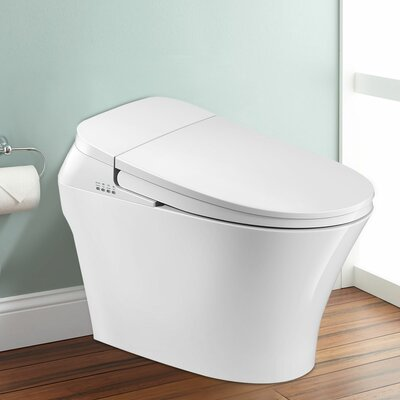 Decoraport Round One-Piece Toilet (Seat Included)