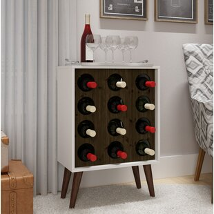 Kory 12 Bottle Floor Wine Bottle Rack by ..