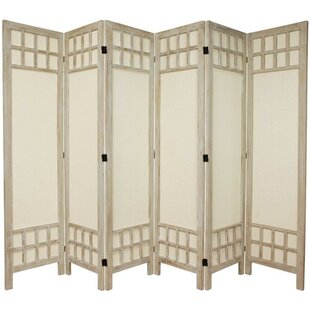 Marissa 6 Panel Room Divider by World Menagerie