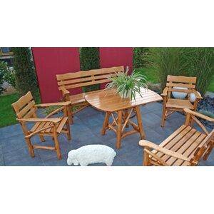 6-Sitzer Gartengarnitur Mosel von Home & Haus