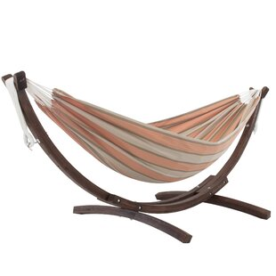 Natalia Double Hammock With Stand By Freeport Park