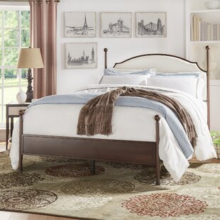 Three Posts Rockledge Upholstered Panel Bed