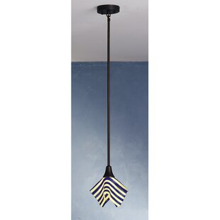 Meyda Tiffany Metro Fusion Slick Handkerchief 1-Light Novelty Pendant