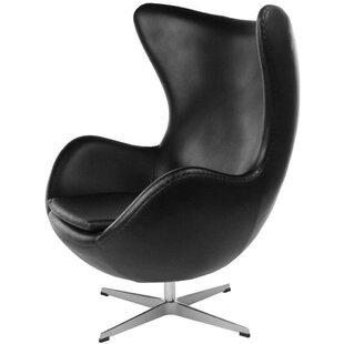 Orren Ellis Jolly Mid-Century Swivel Lounge Chair