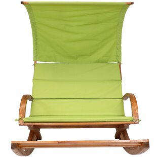 Muller Outdoor Rocking Bench with Cushions