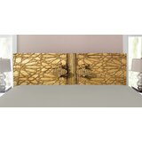 Moroccan Upholstered Panel Headboard by East Urban Home