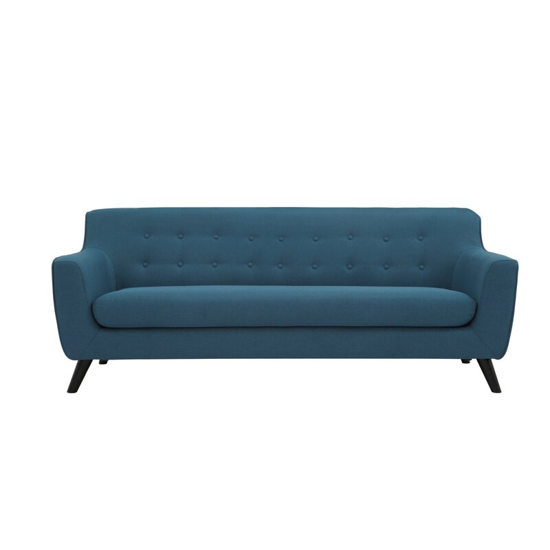 Wrought Studio Swader Tufted 3 Seater
