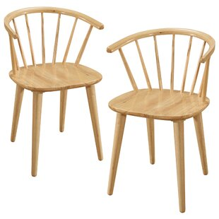 Find for Dania Solid Wood Dining Chair (Set of 2) by Charlton Home Reviews (2019) & Buyer's Guide