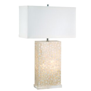 River Rock Encased 30 Table Lamp