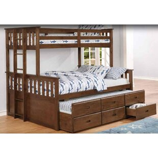 Coupon Shackelford Bunk Bed with Trundle by Harriet Bee Reviews (2019) & Buyer's Guide