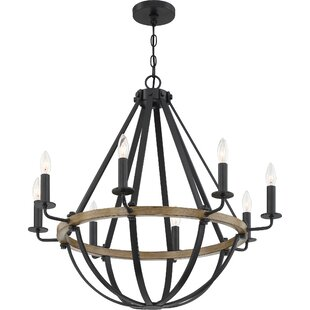 Gracie Oaks Thiele 8-Light Candle Style C..