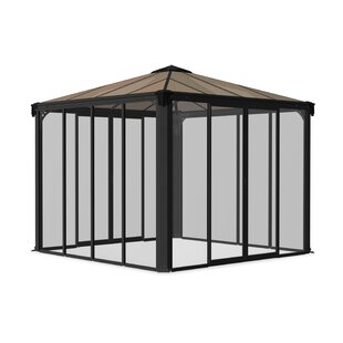 Ledro 3 M W X 3 M D Enclosed Gazebo By Palram