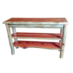 Loon Peak Goethe Cedar Console Table