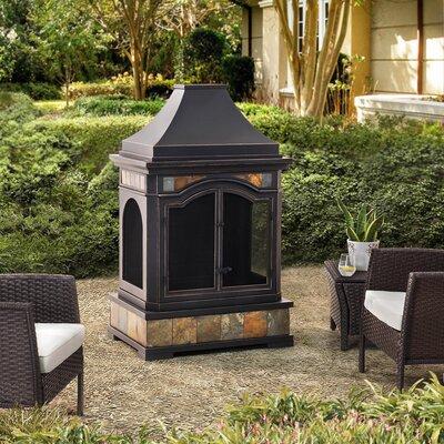 Outdoor Wood Burning Fireplace Wayfair