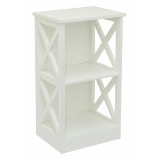 2 Shelf Storage Standard Bookcase by Three Hands Wonderful
