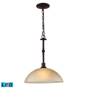 Andover Mills Willoughby 1-Light LED Dome Pendant