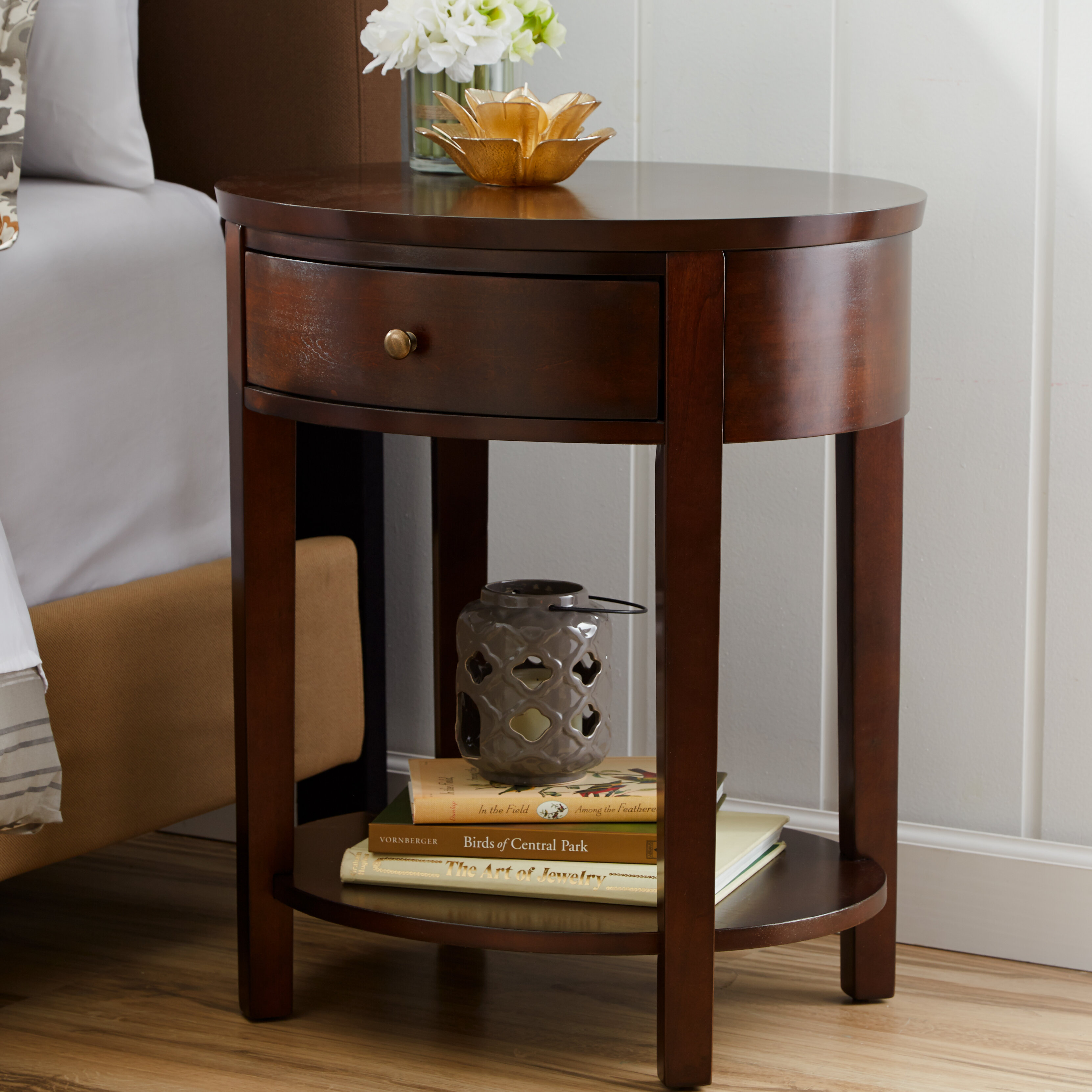Canterbury End Table With Storage