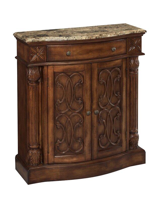 Stein World Monte Carlo Narrow 2 Door Accent Cabinet & Reviews ...
