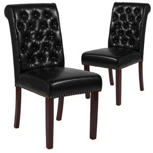 Charlton Home Fransen Upholstered Dining Chair (Set of 2)