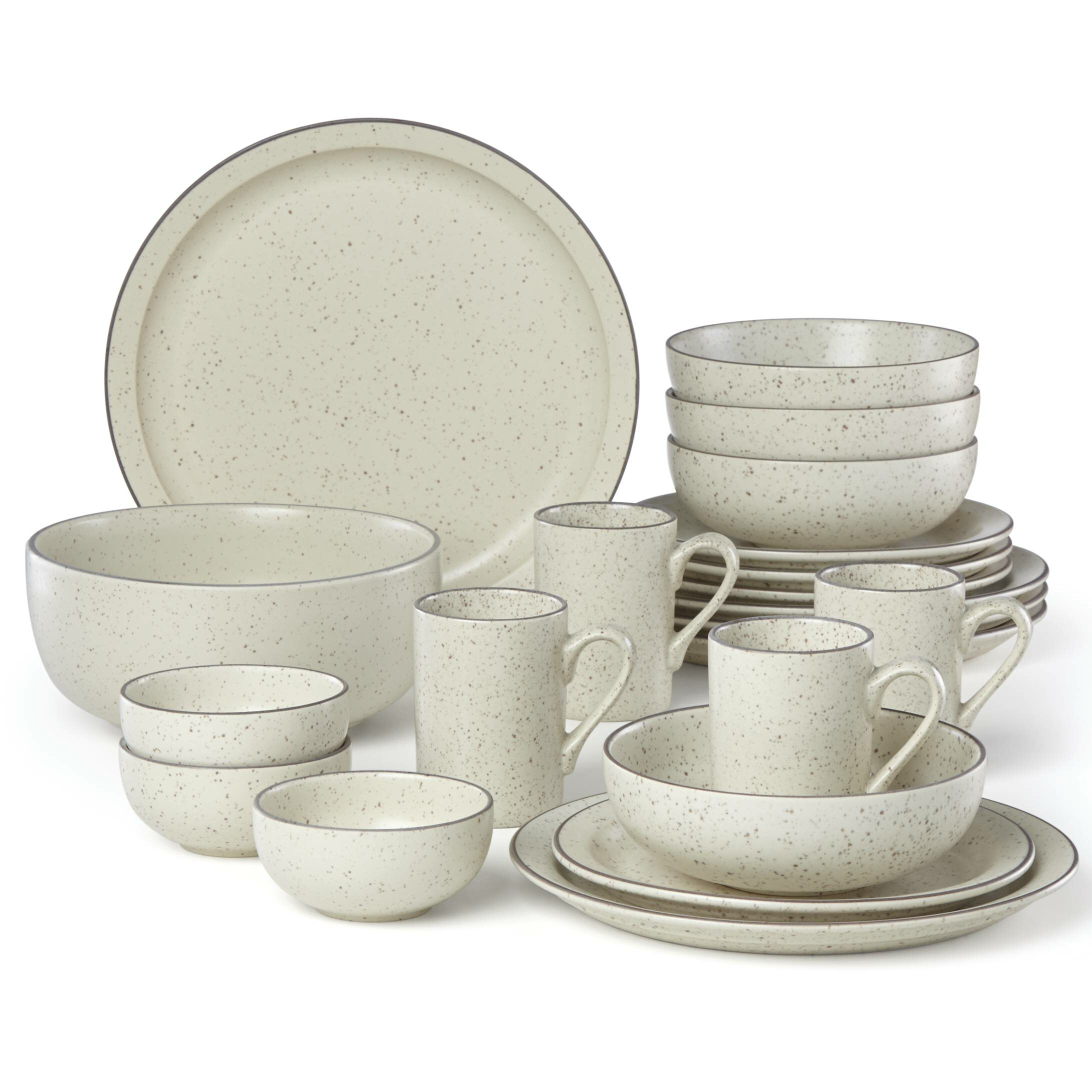 sc 1 st  Wayfair & Dansk Kallan 16 Piece Dinnerware Set Service for 4 \u0026 Reviews | Wayfair