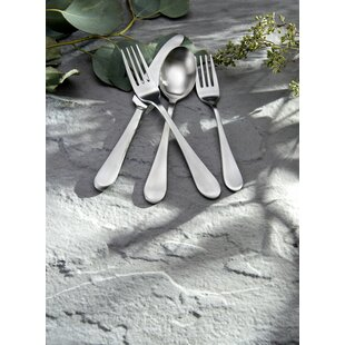 Satin Icarus 20 Piece Flatware Set, Service for 4