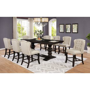 Sabin 9 Piece Extendable Dining Set