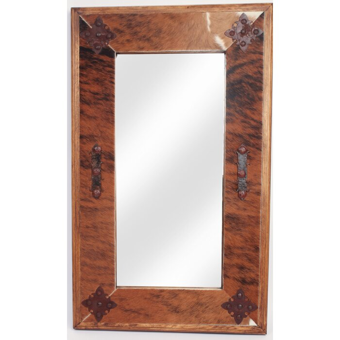 Myamigosimports Medallion Rustic Accent Mirror Wayfair