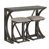 Natrona 3 Piece Pub Table Set by Ophelia & Co.