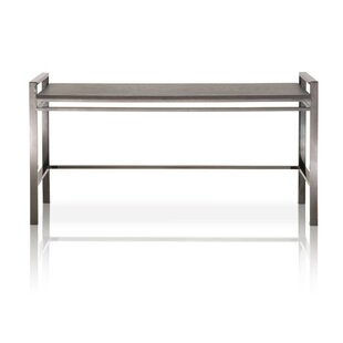 Aria Metal Base Console Table
