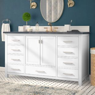 Read Reviews Poyen 60 Single Vanity Base Only By Charlton Home