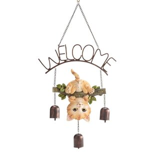Kitten Welcome Bell by Wind & Weather