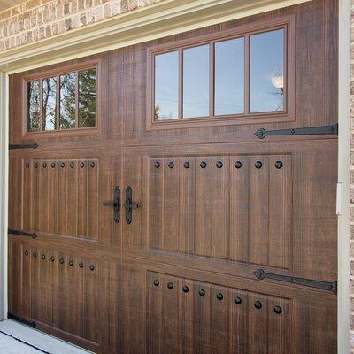 Clavos Plastic Garage Door Hinge And Handle (Set Of 8)