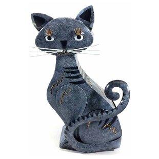 Garden Cat Figurine Statue