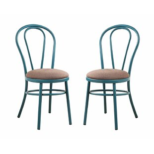 Mullin Round Dining Chair (Set of 2) by August Grove