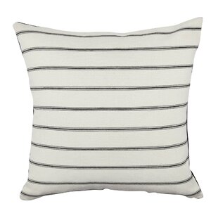 Ticking Stripe Throw Pillow