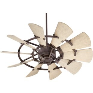Best 44 Mercado Damp 10 Blade Ceiling Fan By Gracie Oaks