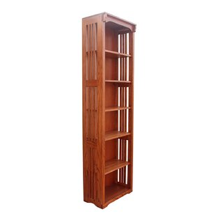 Best Choices Pinson Solid Spindle Standard Bookcase by Charlton Home