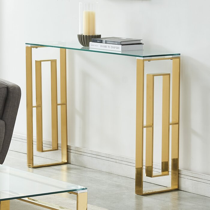 Terrific Menzel Stainless Steel Console Table Pdpeps Interior Chair Design Pdpepsorg