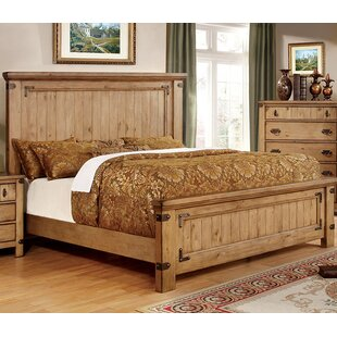 Shellson Panel Bed by Millwood Pines