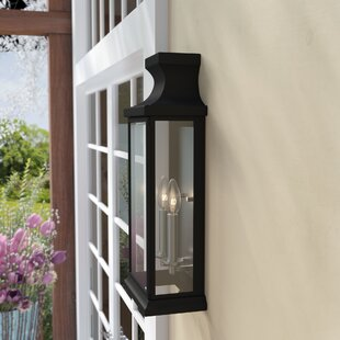 Andover Mills Brinton 2-Light Outdoor Flush Mount